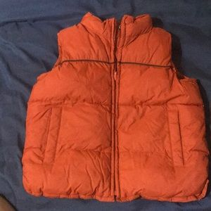 Reversible old navy vest 4t